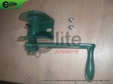 TE1005-Tennis Post Reels,External Winder,Steel,Green