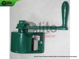 TE1007-Tennis Post Reels,External Winder,Aluminum,Green