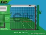 Tennis Net,2.8mm Twisted Netting,Single-TN1128