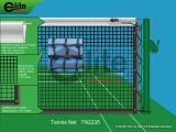 Tennis Net,3.5mm Braided Netting,Double-TN2235