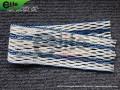 LM1001-Lacrosse Mesh,10 Diamond, Mixed colors